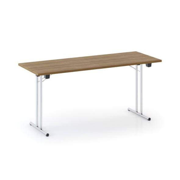 Konferenztisch Klappbar.Konferenztisch Klappbar Klapptisch Fold 1600x800 Mm Nussbaum