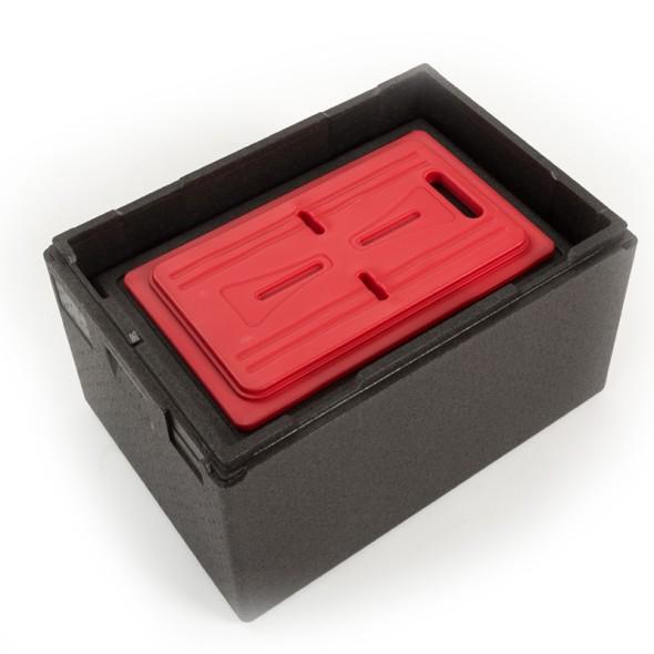 Warmhalteplatte für Thermoboxen, 530 x 325 x 30 mm