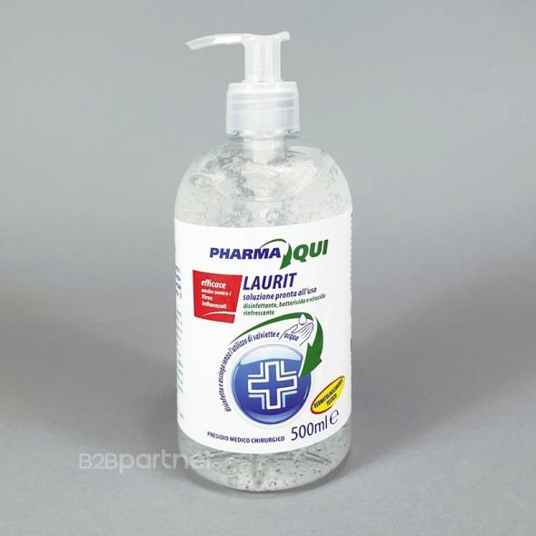 Hand-Desinfektionsgel LAURIT, 4x 500 ml