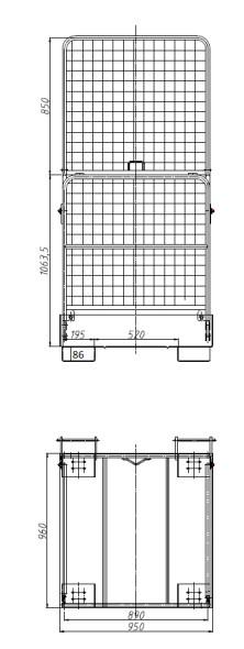 Gabelstaplerplattform
