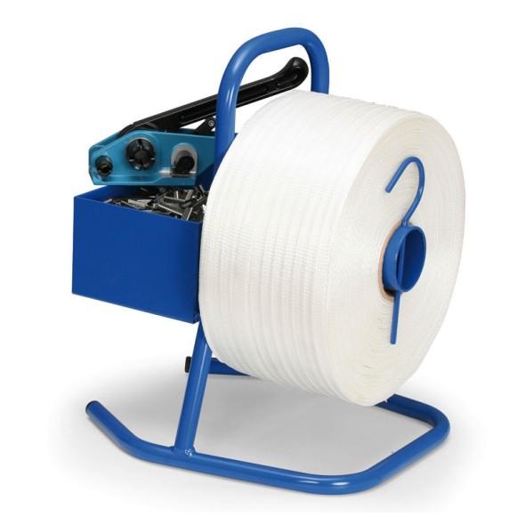 Leichter Bandabwickler für PES-Bänder