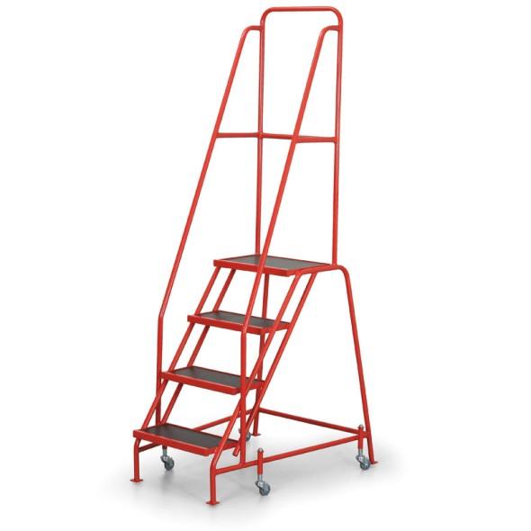 Fahrbare Leiter mit Plattform 0,89 m, 4 Stufen