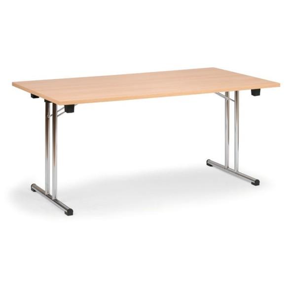Konferenztisch Klappbar.Konferenztisch Klappbar Klapptisch Fold 1600x800 Mm Buche