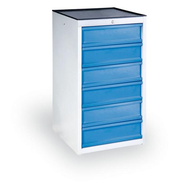 Schubladencontainer, 6 Schubladen