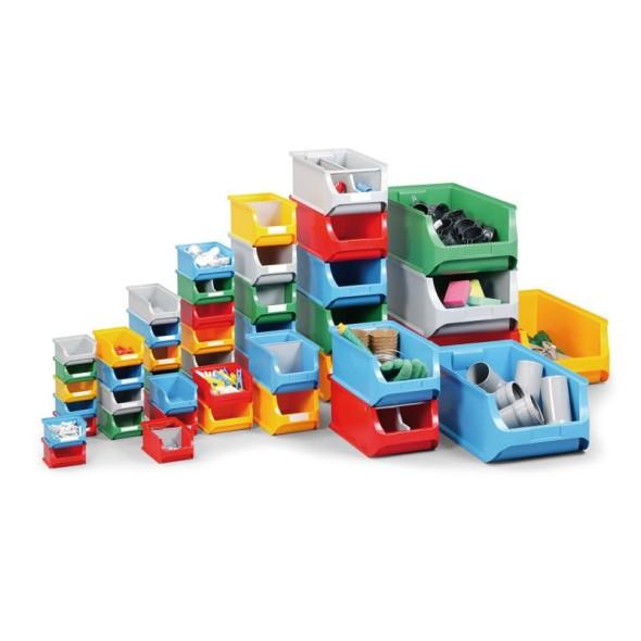 Kunststoffboxen für Kleinmaterial - 310 x 500 x 200 mm, blau