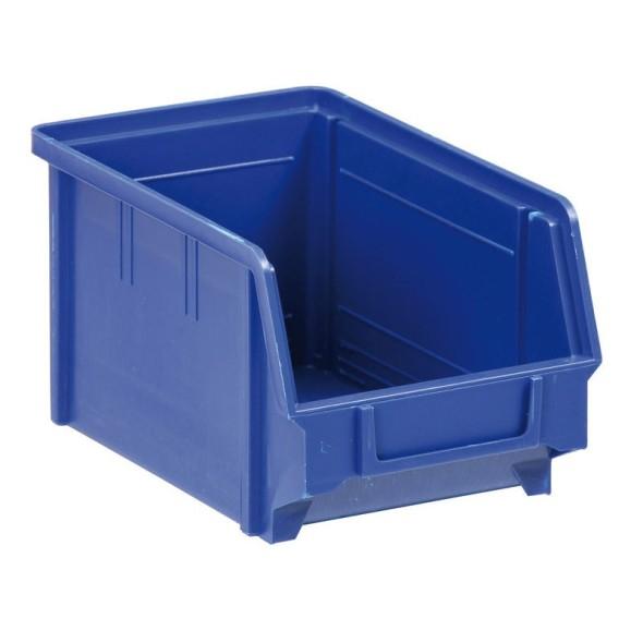 Kunststoffboxen, 146 x 237 x 124 mm, blau