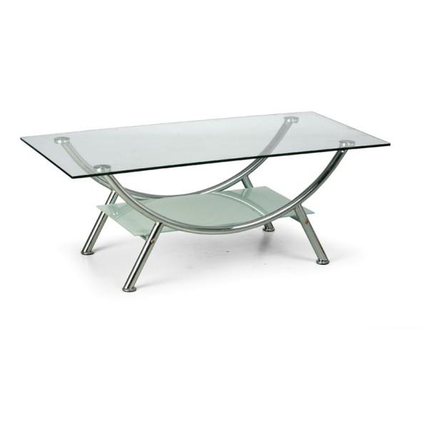 Konferenztisch mit Glasplatte