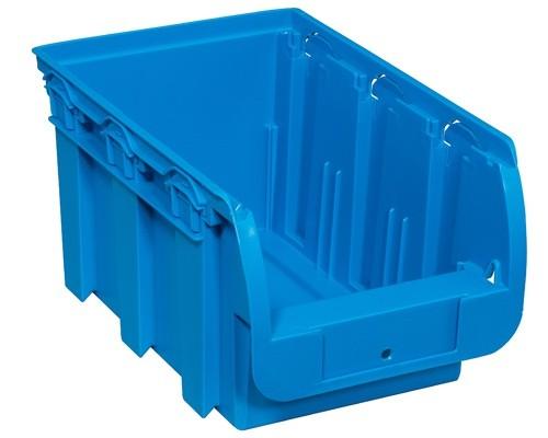 Kunststoffbox COMPACT, 154 x 235 x 125 mm, blau