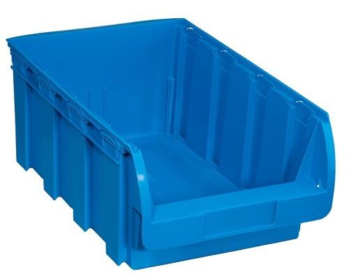 Kunststoffbox COMPACT, 316 x 500 x 200 mm, blau