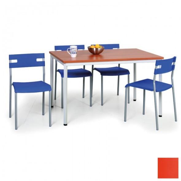 Kombination Esstisch 4 Stuhle Orange Gratis B2b Partner