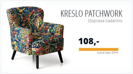 All - Křeslo Patchwork IN - 954005 (HP)